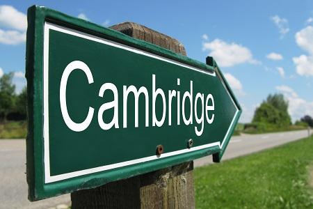 Cambridge sign