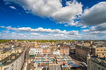 The Magic of Market Square, Cambridge