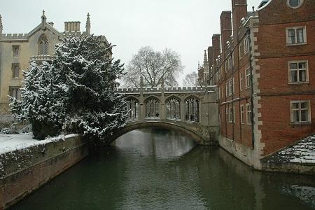 Snow in Cambridge