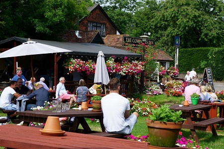 Top 10 spots for outside dining in Cambridge