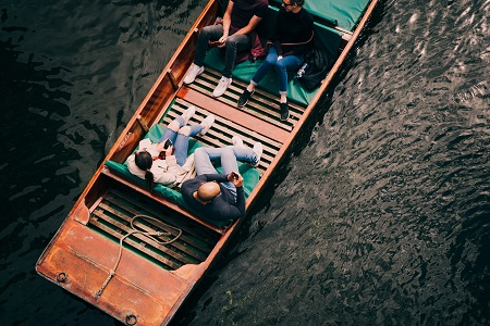 Boating in Cambridge